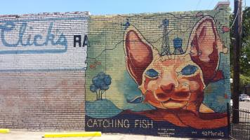 Catching Fish Mural - 2015