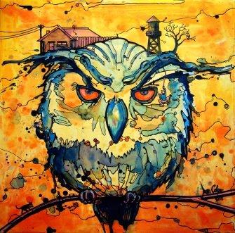 Colcer.The Watcher.Acrylic