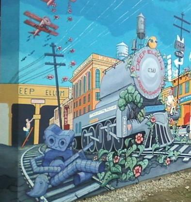 Dug Mural